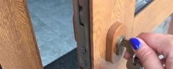 Ilford locks change